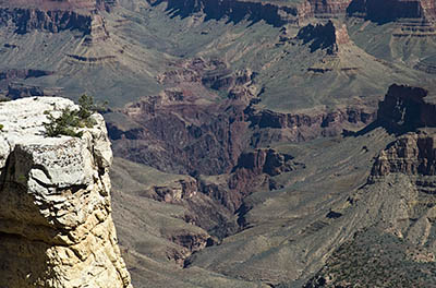AZ: Northern Arizona Region, Coconino County, Grand Canyon Area, Grand Canyon National Park, South Rim, Desert View Drive, Pipe Creek Vista, Canyon view [Ask for #275.101.]